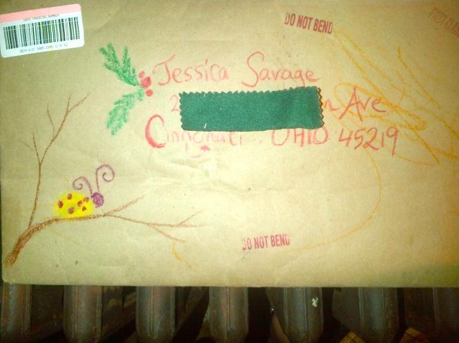 I love the envelope!
