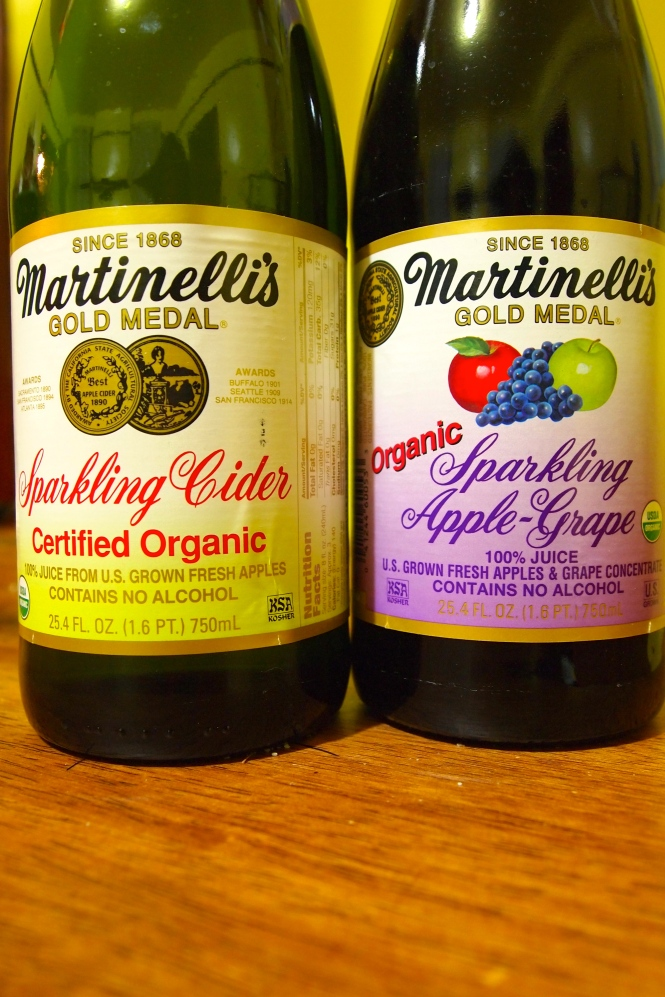 Sparkling juices