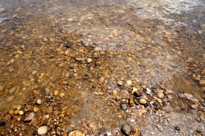 tiny river rocks