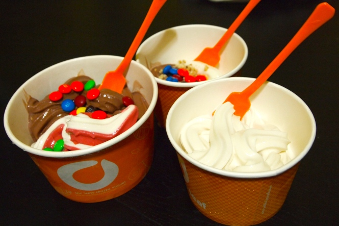 Did I mention we now have an Orange Leaf within walking distance to our house...